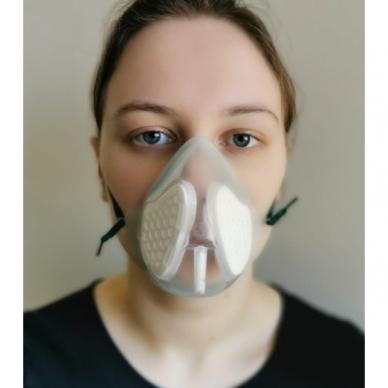 Filta Mask medicininė veido kaukė su filtrais 2
