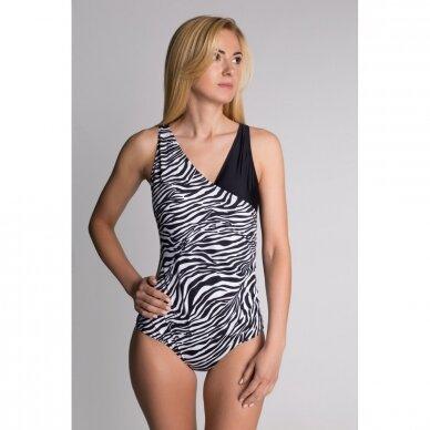 Maudymosi kostiumėlis N2 Zebra