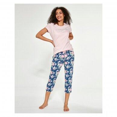 Moteriška 3-ų dalių pižama Beautiful 466/281