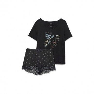 Moteriška pižama Flossy 39269 3